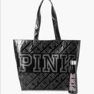 🆕 PINK Tote Bag & Swell Hot/Cold Drink Bottle